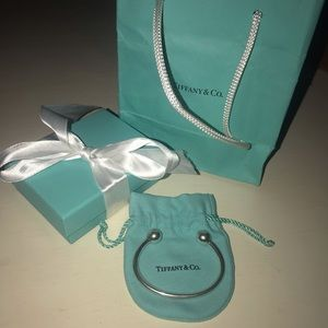 Tiffany & Co. Jewelry - Tiffany & Co. Sterling Silver Ball Bracelet